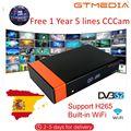GTMedia V8 Nova декодер встроенный WiFi DVB-S2 спутниковый ТВ приемник Поддержка Powervu Biss ключ декодеры 1 год Европа Испания CCCAM