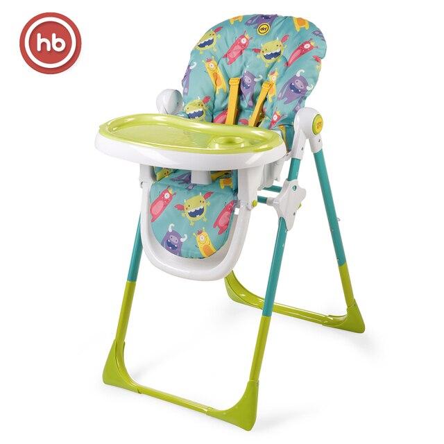 Стульчик для кормления Happy Baby Goodie, 6 положений по высоте, регулировка столешницы, съемный поднос