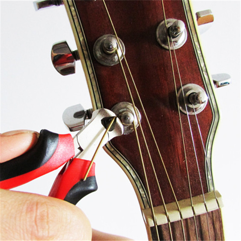 new 1 set baroque acoustic guitar electric guitar electric bass cut string pliers string cutter. Black Bedroom Furniture Sets. Home Design Ideas