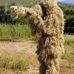 3D Universale Camouflage Vestiti Woodland Vestiti di Misura Adattabile Ghillie Suit Per La Caccia Army Sniper Tattico Militare Set