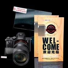 ЖК-дисплей Камера фокусировки Экран для Sony rx100iii RX100II RX100 закаленное Стекло протектор Экран A7 Mark II A77 MarkII защитный Плёнки