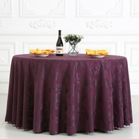 Cotton Big Hook Flower Tablecloth Round Rectangle Square Wedding Dining Polyester Cotton Table Cloth For The Kitchen