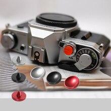 CADEN 3 шт. 11 мм вогнутая кнопка спуска затвора для Nikon DF M2 F3 Canon F-1/ F-1/AE-1(FD Крепление) Minolta XD7 SR-7 камера