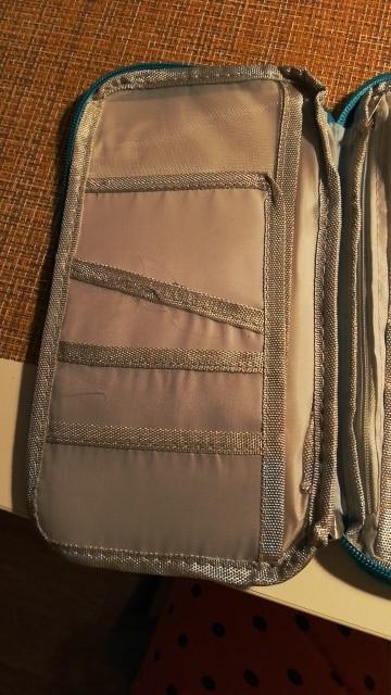 Travel Wallet Passport Holder Document Organiser Bag Ticket Credit Card Case photo review