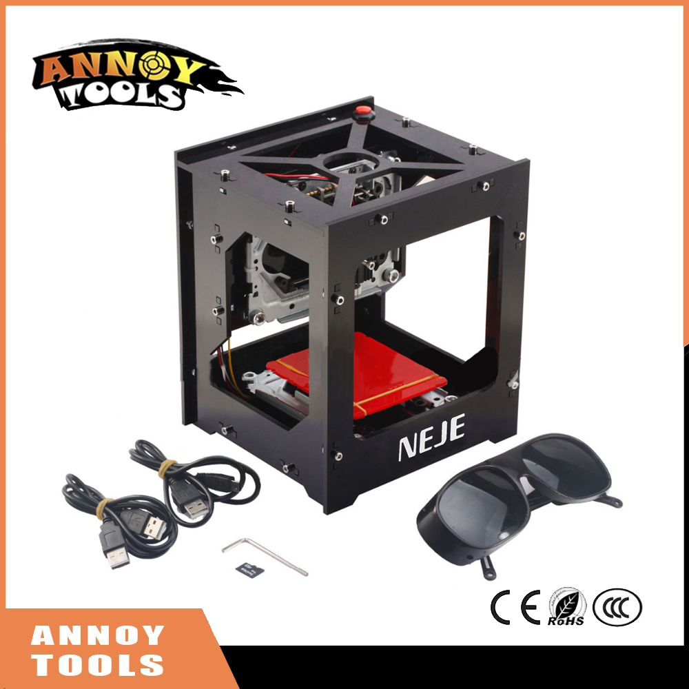 NEJE 1000mW cnc crouter cnc laser cutter mini cnc engraving machine DIY Print laser engraver High Speed with Protective Glasses