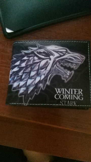 Game of Thrones PU Wallet/Purse Printed w-Symbols of House Arryn/Baratheon/Greyjoy/Lannister/Martell/Tully/Tyrell/Targaryen. photo review