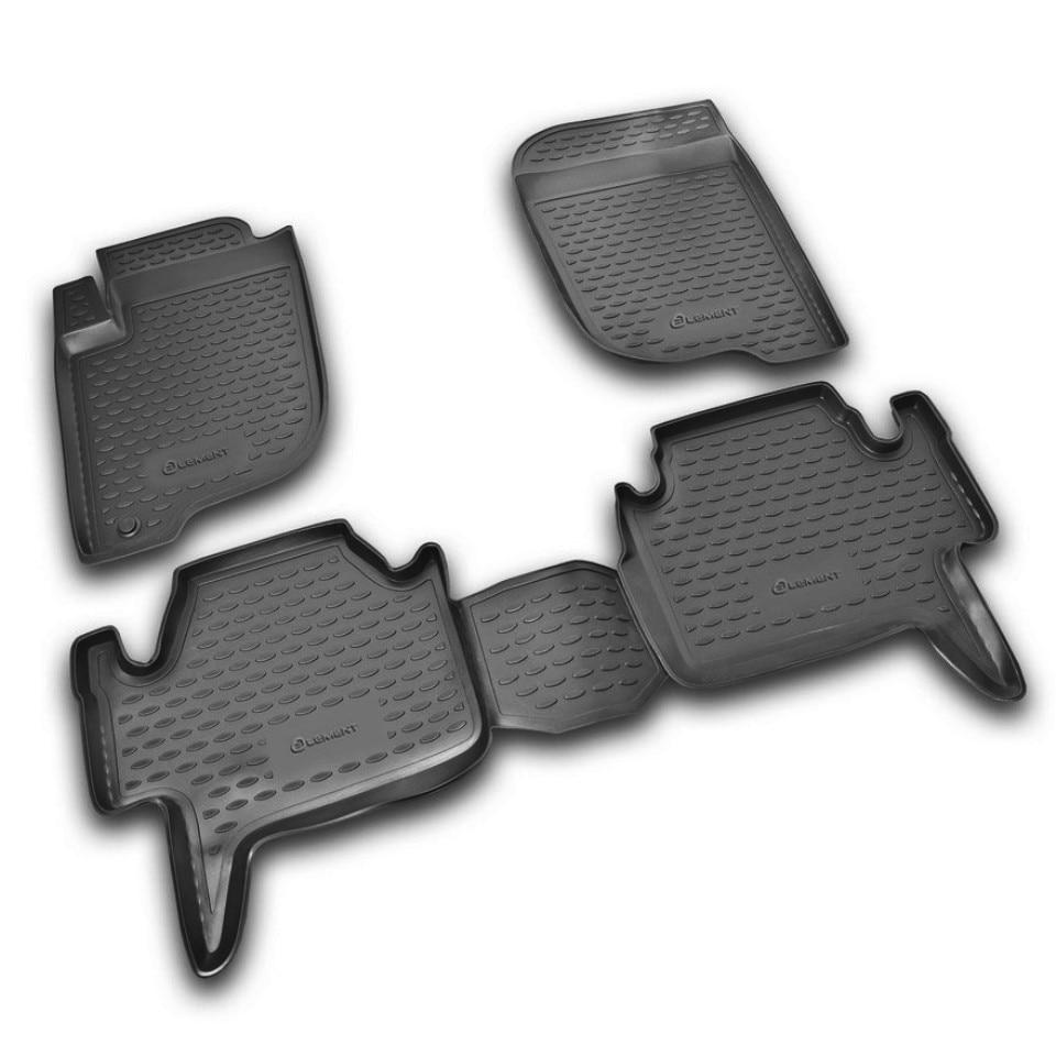 Floor mats for Mitsubishi Pajero Sport 2 2008-2012 (Element NLC3520210)