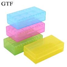 цена на GTF18650 CR123A 16340 Battery Case Holder Box Storage Color Optional