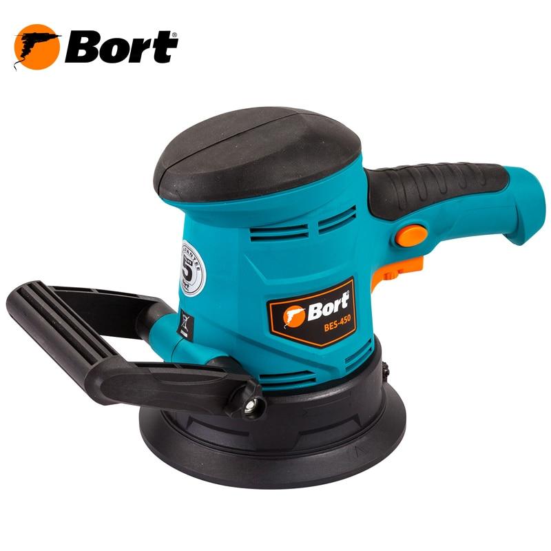 Orbital grinding machine Bort BES-450 шампунь bes