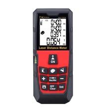 40M/131Ft Mini Digital Distance Meter Rangefinder Measure Tape Diastimeter
