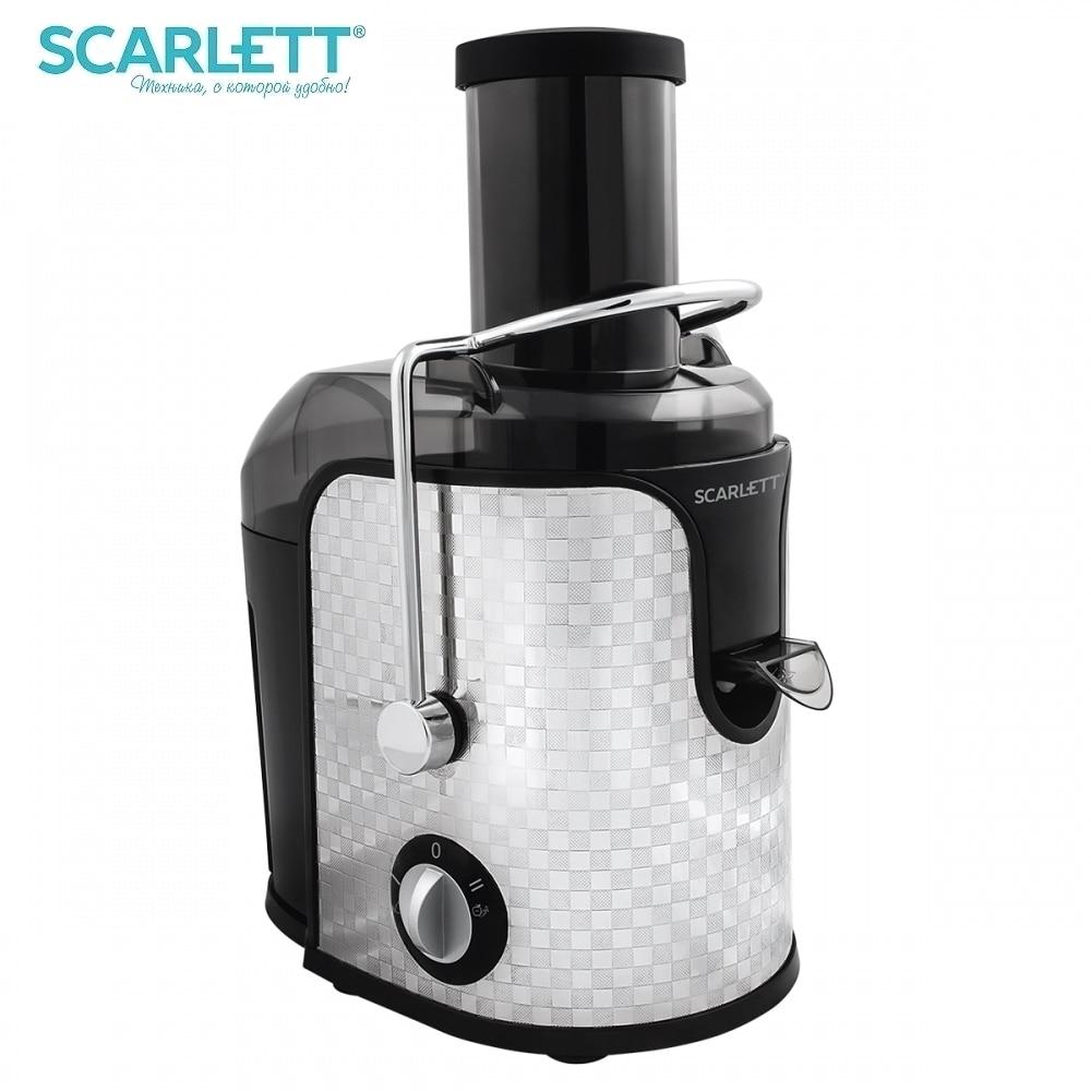 купить Juicer Scarlett SC-JE50S11 Electric Juicer kitchen juice extractor Juicer Press for citrus Household appliances for kitchen по цене 5327.1 рублей