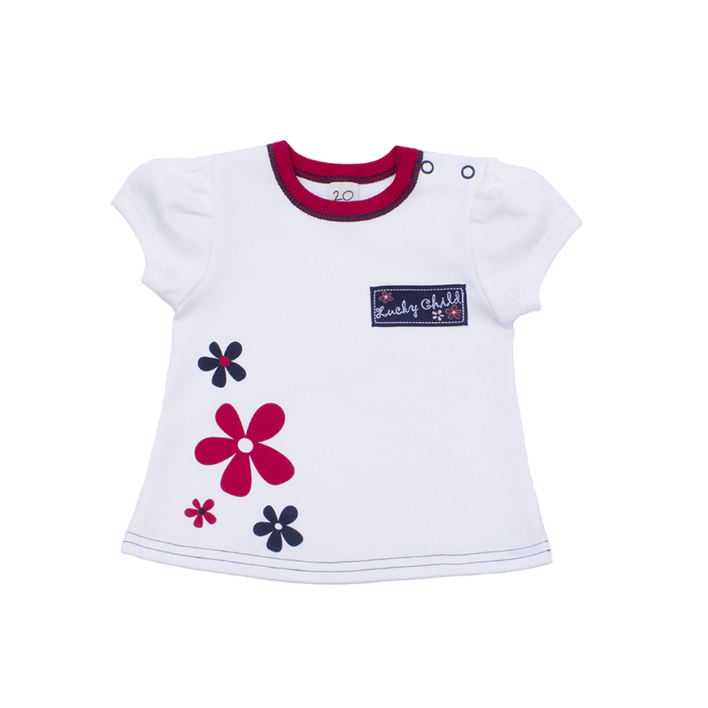 T Shirts Lucky Child for girls 18-36 (3M-18M) Top Baby T Shirt Kids Tops Children clothes t shirts lucky child for boys 21 262 12m 18m top baby t shirt kids tops children clothes