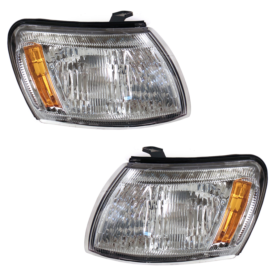 Front Turn Signal Light Fits TOYOTA CORONA #T19# 1992 1993 1994 1995 1996 Marker Parking Corner Left + Right Pair