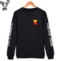 fbd72a567 KPOP Bangtan Boys Casual Hoodie Sweatshirt Women Hoodies Hooded Long  Sweatshirt Women Oversize Sweatshirt Goof Life