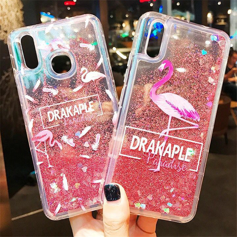Redmi Note5 Glitter Case on for Xiaomi Redmi Note 5 Pro Cover for Xiomi Redmi Note 5A Prime Capa Liquid Quicksand Soft TPU Cases