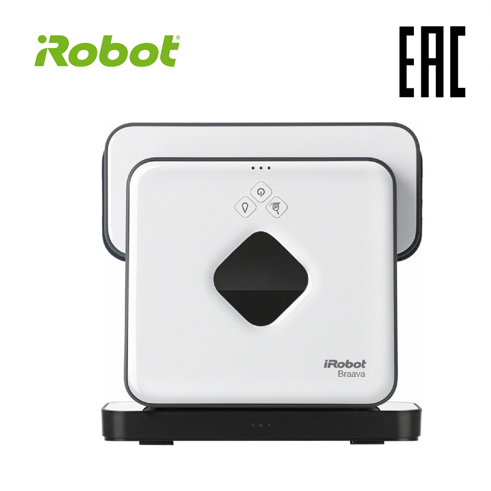 iRobot Braava 390T High Suction Electric Automatic Robot Vacuum Cleaner Dust Sweeping Wet Mop Floor Dirt Sweeper Household pro electric wireless vacuum intelligent sweep sweeping robot automatic suction cleaner dry wet dust machine for home household