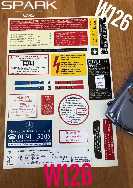 MERCEDES W126 260 SE-560 SEL SPIEGEL LINKS ELEKTRISCH ORIGINAL