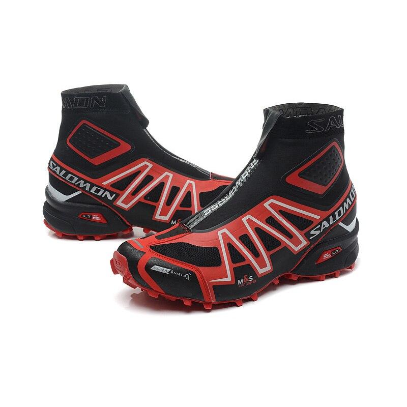 Salomon Speed Cross CS Snowcross Sneakers Hommes Chaussures de Course Classique noir bleu En Plein Air Chaud Speedcross Chaussures de Sport eur 40- 46