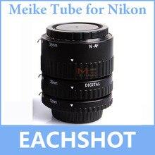 مجموعة أنابيب تمديد ماكرو بتركيز تلقائي MK N AF B Meike لكاميرا نيكون D3400 D5300 D7200 D850 D5500 D5600 D750 DSLR