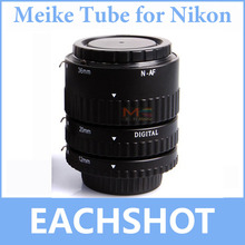 Набор удлинительных трубок Meike для Nikon D3400 D5300 D7200 D850 D5500 D5600 D750 DSLR, с автофокусом, AF, макро, автофокусом и автофокусом