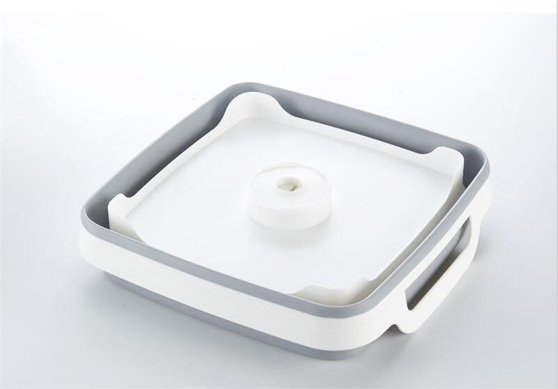 Kvadratfrukt Grönsakssvamp Tvättfat Kök Produktförsörjning - Hushållsvaror - Foto 4