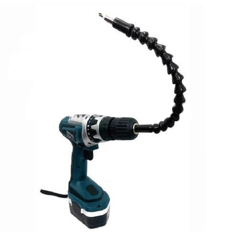 295mm Flexible Shaft Bit Magnetic Screwdriver Extension Drill Bit Holder Connect Link For Electronic Drill 1/4 6.35mm