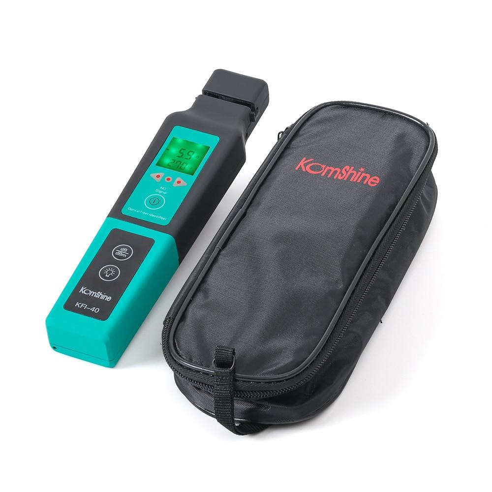 Komshine KFI-40 Optical Fiber Identifier Identificador De Trafico FTTH 800-1700