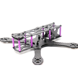 Image 2 - TCMM طائرة بدون طيار FPV طقم إطارات Martian 215 قاعدة العجلات 215 مللي متر 4 مللي متر الذراع ألياف الكربون ل RC الطائرة بدون طيار FPV سباق طقم إطارات