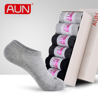 Women Black No Show Socks 6 Pairs Deodorant For Dress Women S Cotton Polyester Spandex Winter