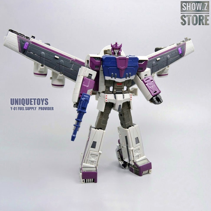 [Show.Z Store] Unique Toys UT Y 01 Y01 Fuel Supply Provider Octane Reissue Transformation Action Figure