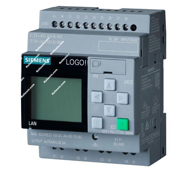 6ED1052-1CC08-0BA0 Original LOGO! 24CE logic module 6ED1 052-1CC08-0BA0 6ED10521CC080BA0 Replacement of 6ED1052-1CC01-0BA8 dhl ems 5 lots original s 6ed1 052 1md00 0ba5 programmable controller broken parts a1