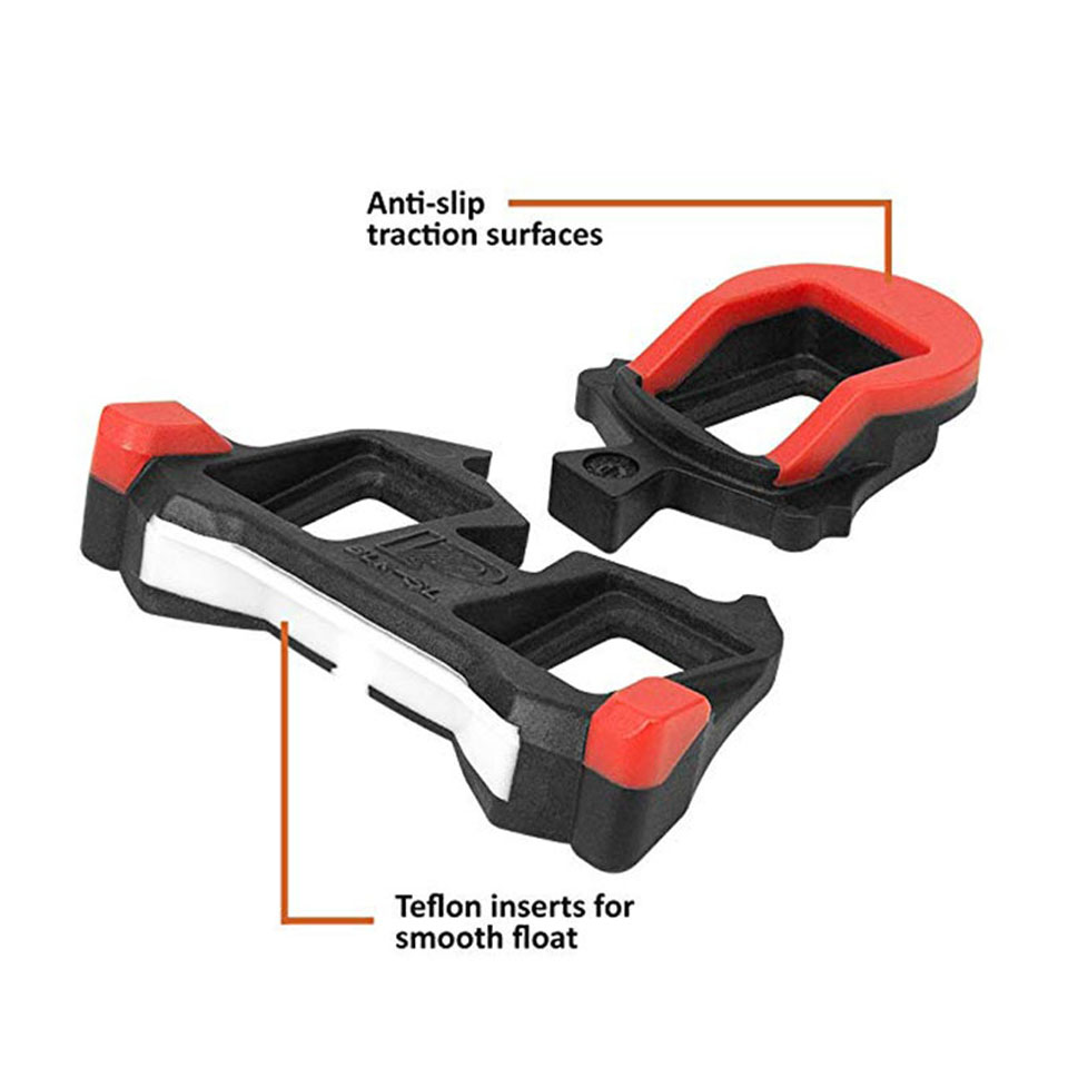 e54c6f4e4805 Road Bike Cleats 6 Degree Float Self locking Cycling Pedals Cleat For Shimano  SH 11 SPD SL System Shoes-in Bicycle Pedal from Sports & Entertainment on  ...