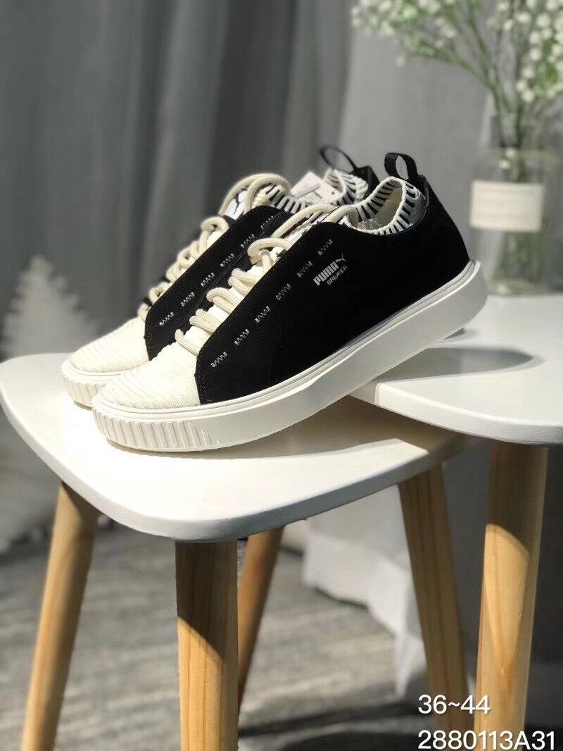 be495c641d73 2018 Nouveau PUMA Disjoncteur Tricot Sunfaded Sneakers Chaussures hommes et  Femmes Amoureux des Chaussures De Badminton