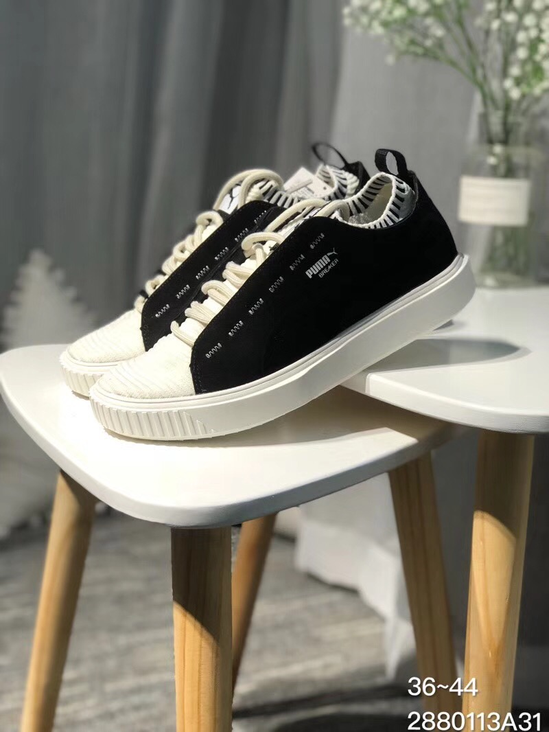 2018 New PUMA Breaker Knit Sunfaded Sneakers Shoes Mens and Womens Lovers Shoes Badminton Shoes Size 36-44