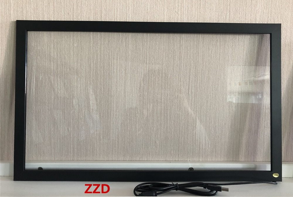 ZZDtouch 23 6 inch infrared touch screen 2 points ir touch frame touch panel for touch