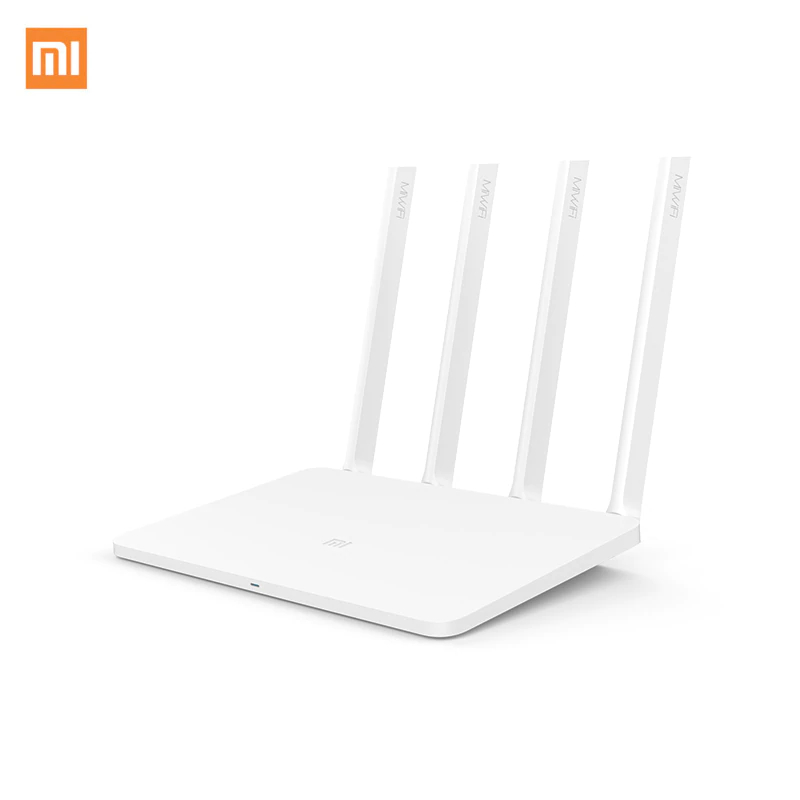 Xiaomi Mi Wireless Router 3 EU 1167Mbps Wi-Fi Repeater 2.4G/5GHz 128MB Dual Band APP Control EU Plug us plug battery charger dual 3 7v 900mah li ion batteries eu plug adapter set for sj4000 black