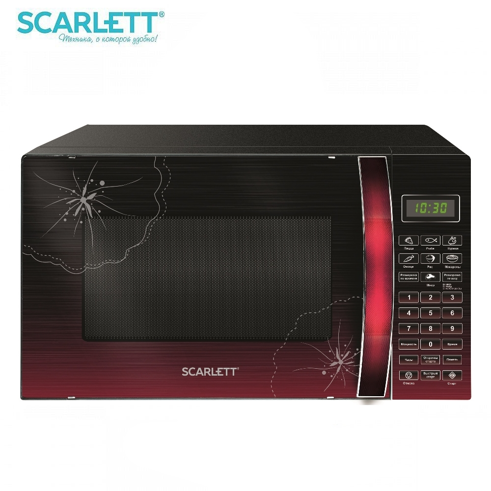 Microwave oven Scarlett SC-MW9020S04D 700 W Microwave oven kitchen Household appliances for kitchen