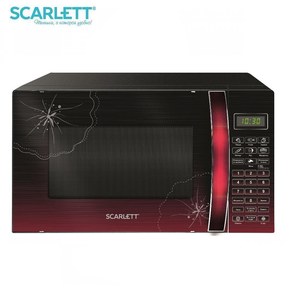 цены на Microwave oven Scarlett SC-MW9020S04DR Microwave oven kitchen Household appliances for kitchen  в интернет-магазинах