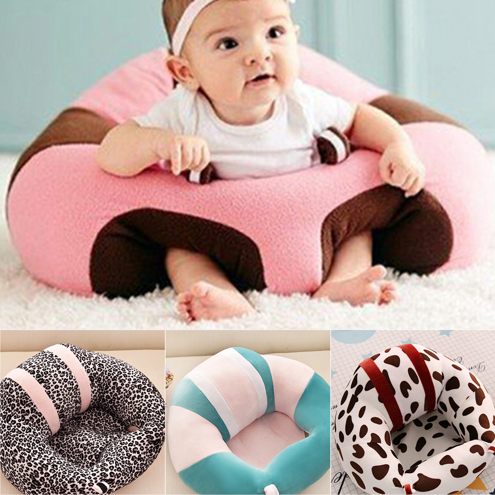 Baby Support Seat Infant Learning To Sit Baby Sofa Chair Feeding Chair Children Seat Harness Kids Baby Seat Chair Plush Toy