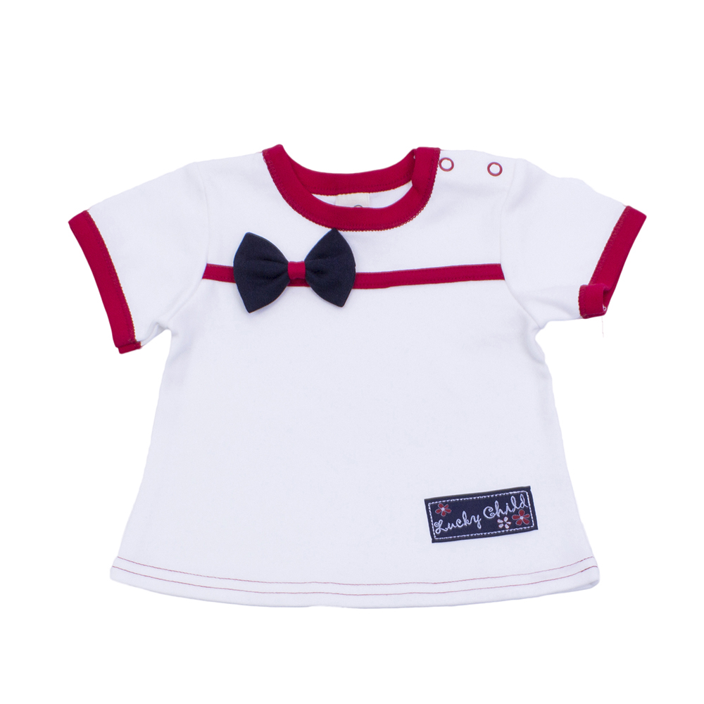 T Shirts Lucky Child for girls 18-26 (3M-18M) Top Baby T Shirt Kids Tops Children clothes new baby girls t shirt brand round neck kids clothes tshirt printed cute red rabbit pattern next clothing style for 18m 6t