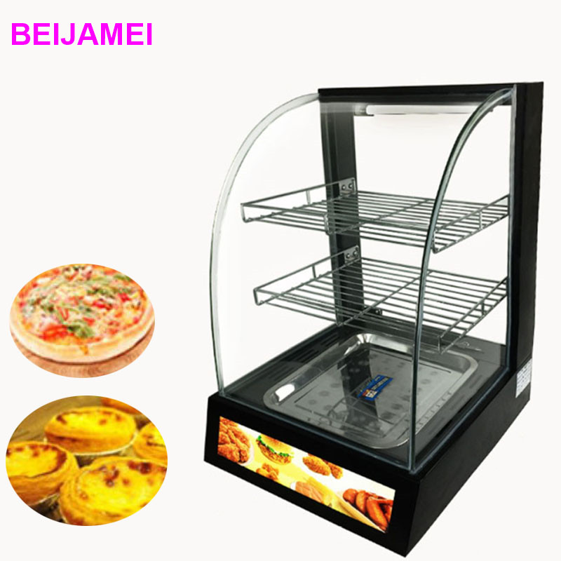 BEIJAMEI Restaurant Equipment Glass Food Warmer Display Showcase Takoyaki Taiyaki Electric Food Display Warmer hot dog display electric food warmer stainless steel food warmer cabinet warmer showcase warmer display