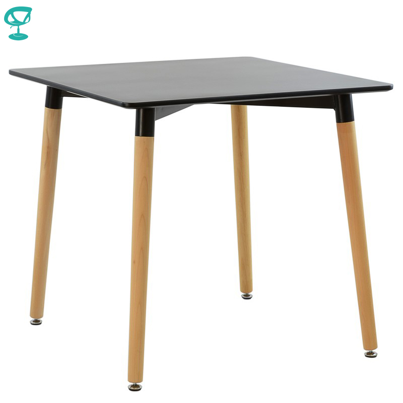95245 Barneo T-9 MDF Interior Dinner Table Bar Table Kitchen Furniture Dining Table Black Free Shipping In Russia