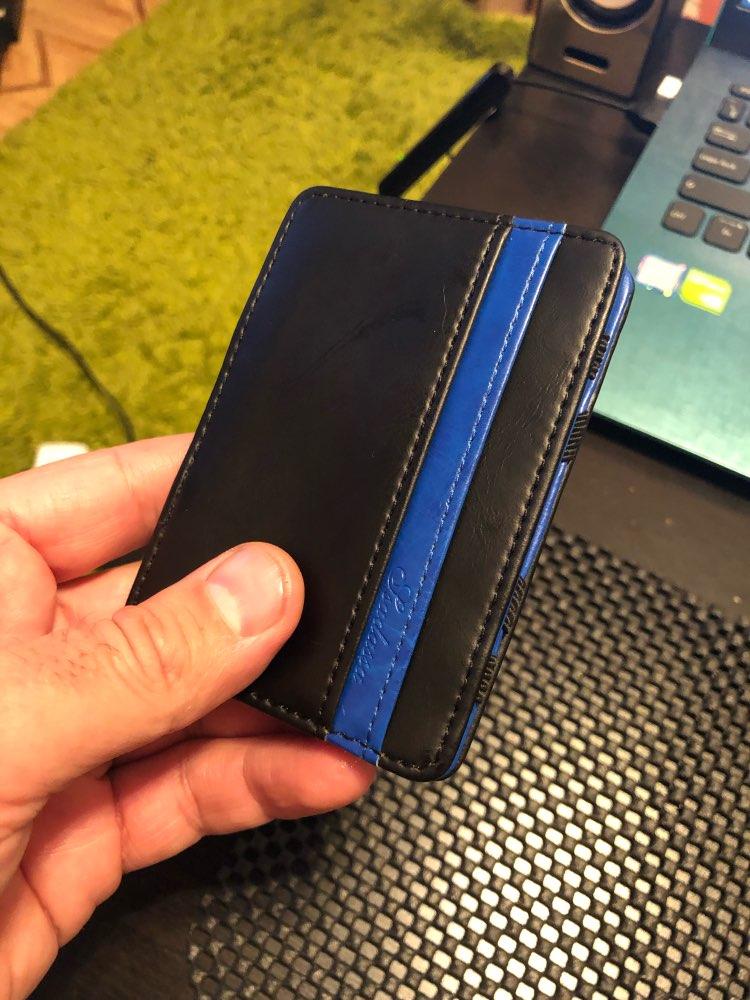 KUDIAN BEAR Minimalist Men Money Clip Wallet Rfid Slim Card Organizer Purse Magic i Clip carteras Minimalista-BID015 PM49 photo review