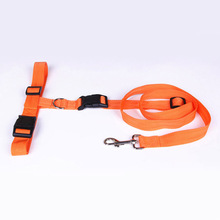New Waist Pet Dog Leash Running Jogging Puppy Dog Lead Collar Sport Adjustable Walking Leash Candy Colors Hand Free Walking