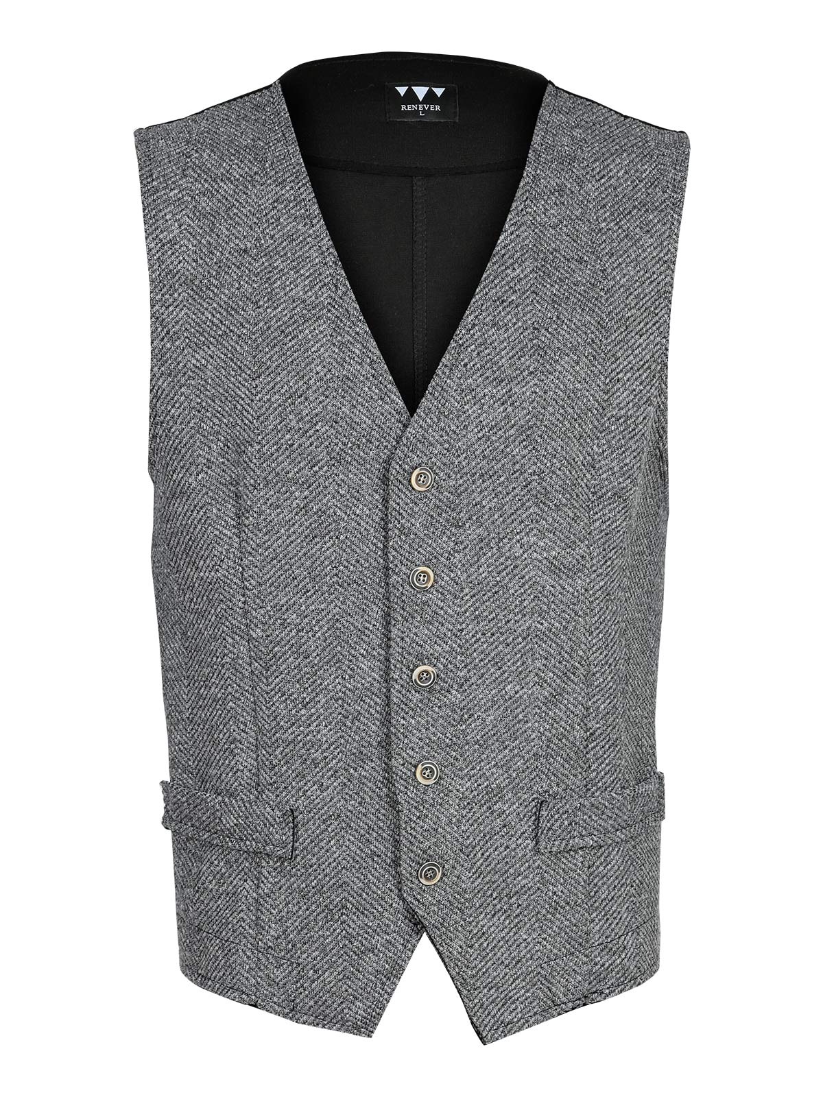 Gray Vest Men