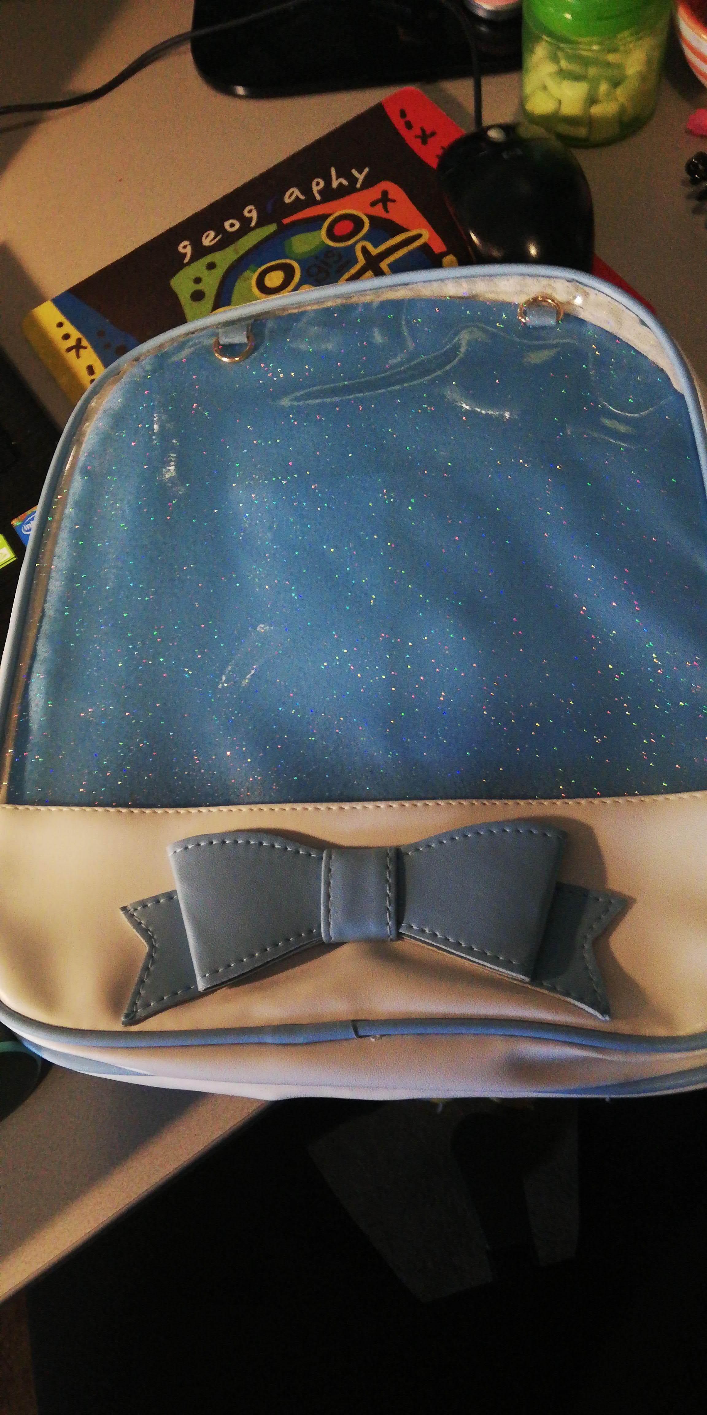 Clear Transparent Backpacks Women Harajuku Bow-knot Itabags Bags School Bags for Teenager Girls Designer Ita Bag Bookbag Bolsa photo review