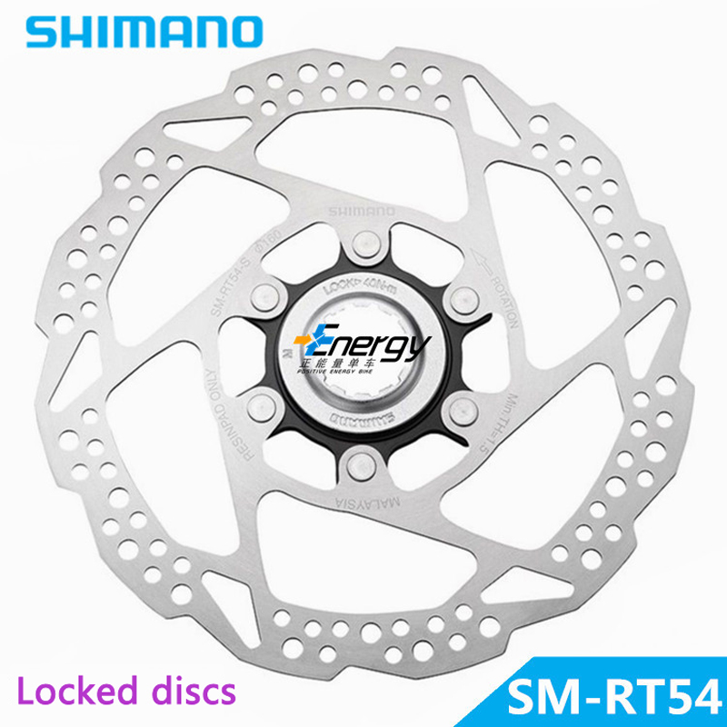 Shimano Deore SLX <font><b>SM</b></font>-<font><b>RT54</b></font>-S Bicycle parts Stainless Steel Cycling Bike Bicycle Disc Brake Rotors Centerlock 160mm free shipping image