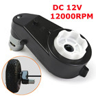 1Pc 12V 35-45W 12000/min Electric Motor Gear Box For Kids Ride On Car Bike Toy Spare Parts Black