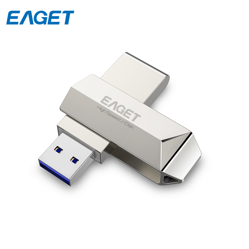 USB flash drive Eaget F70 64G eaget u66 32gb usb 3 0 usb flash drive u disk usb pen drive silver