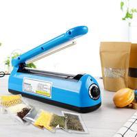 Automatic Heat Sealing Impulse Manual Sealer Plastic Bag Sealing Machine Household Vacuum Food Packing Plastic Sealing Machine